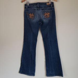 Paige Bootcut Jeans Petite Length